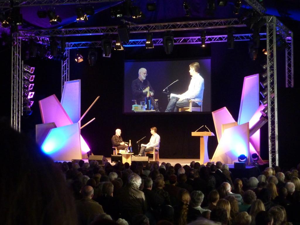 Terry Pratchett and Robin Wilkins